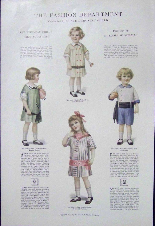 Fashion plates for boys 3