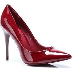 Bordowe Szpilki Maroon Sexy Heels