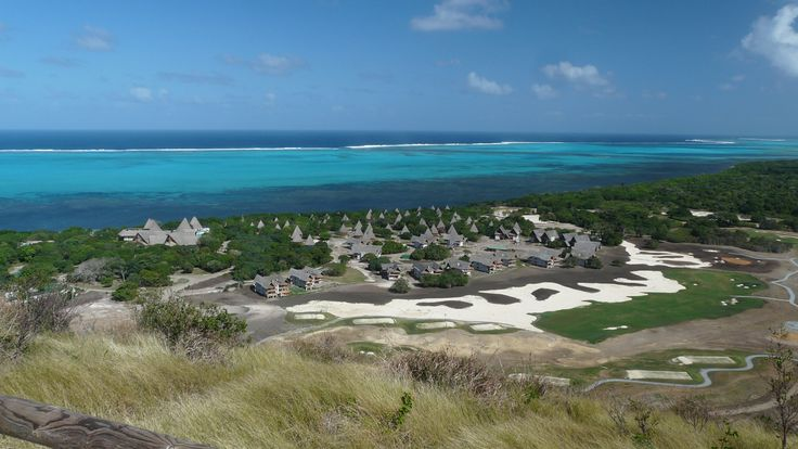 Sheraton New Caledonia Deva Spa and Golf Resort - view from hills of the Deva domain