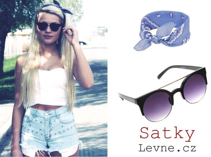 Stylové sluneční brýle : http://www.satkylevne.cz/www/cz/shop/slunecni-stylove-bryle/  Šátky do vlasů : http://www.satkylevne.cz/www/cz/shop/satky-do-vlasu/
