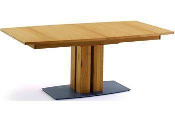 Säulen-Kulissentisch, Premium collection by Home affaire, »Modesto«, Breite 160 cm für 1.099,99€. Esstisch mit Auszugsfunktion, Ausziehbar auf 205 cm bei OTTO