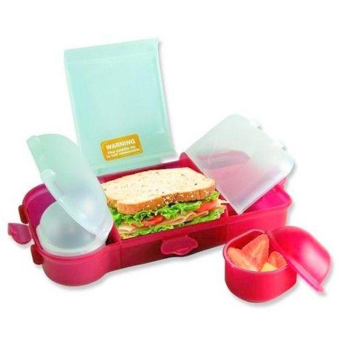 Lunchbox Smash XL różowy