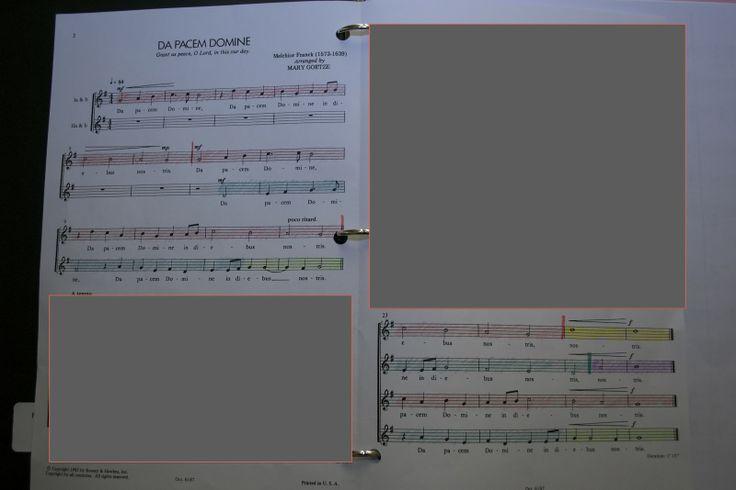 Score Marking for Middle School Choir   Kentucky Kodály Classroom