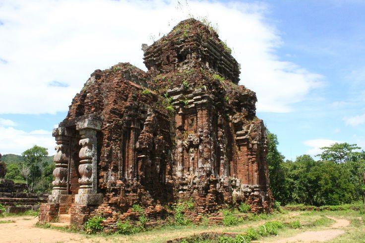 O complexo de My Son, a 40 km de Hoi An (de onde saímos para visitar este conjunto de ruínas) é um dos lugares arqueológicos mais importantes do Vietname.