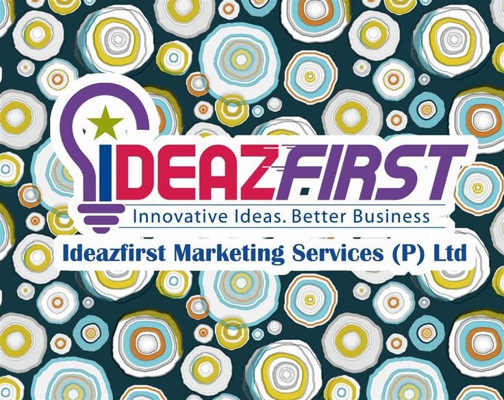 Ideazfirst logo created for social media postings