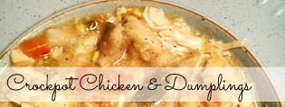 The Best Crock Pot Chicken and Dumplings Recipe   Budget Savvy Diva we usually have these ingredients on hand