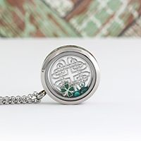 The 'Locket of Luck' from South Hill Designs. Perfect for St. Patrick's Day. Only $38.50!