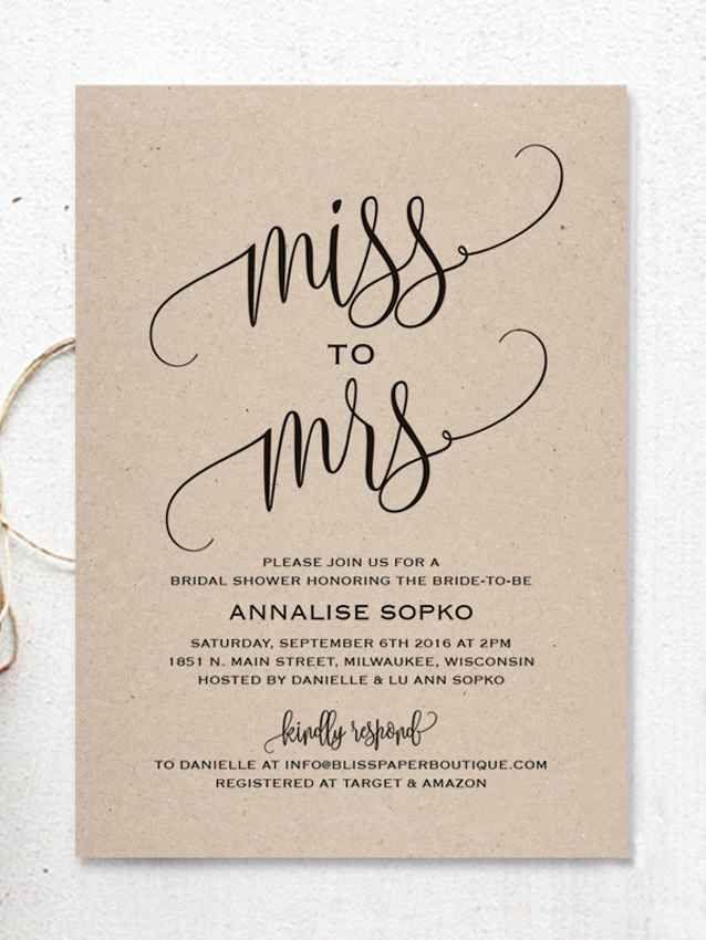Best 25+ Rustic bridal shower invitations ideas on Pinterest - bridal shower invitations template