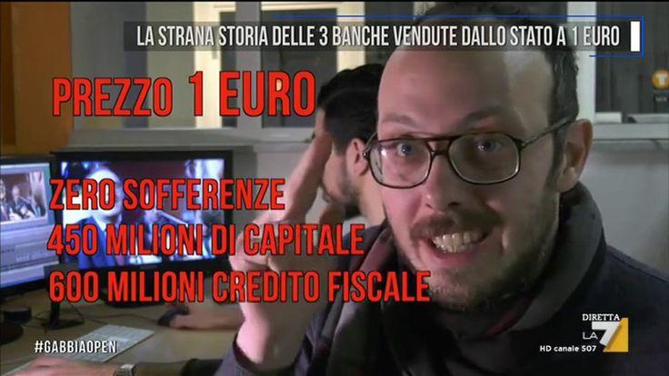 La strana storia delle 3 banche vendute dallo stato a 1 euro