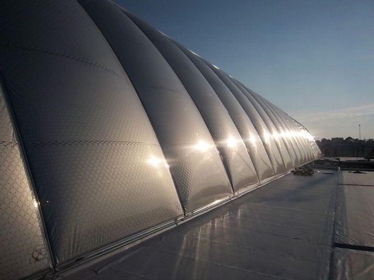 Montpellier Saint Roch station - ETFE roof - AREP / MaP3 - Entreprises Gagne & Vector Foiltec - 2013