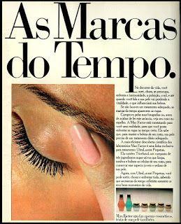 Anúncio cosméticos Max Factor - 1978