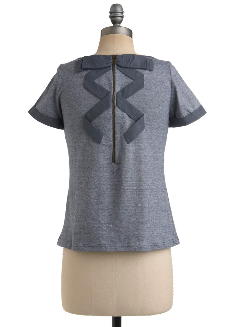 too cute,really.: Fashion Sen, Blouses, Sewing Projects, Shops, Colors Tees, Bows Details, Rings A Ding Dinghi Tops, Ringadingdinghi Tops, Back Details
