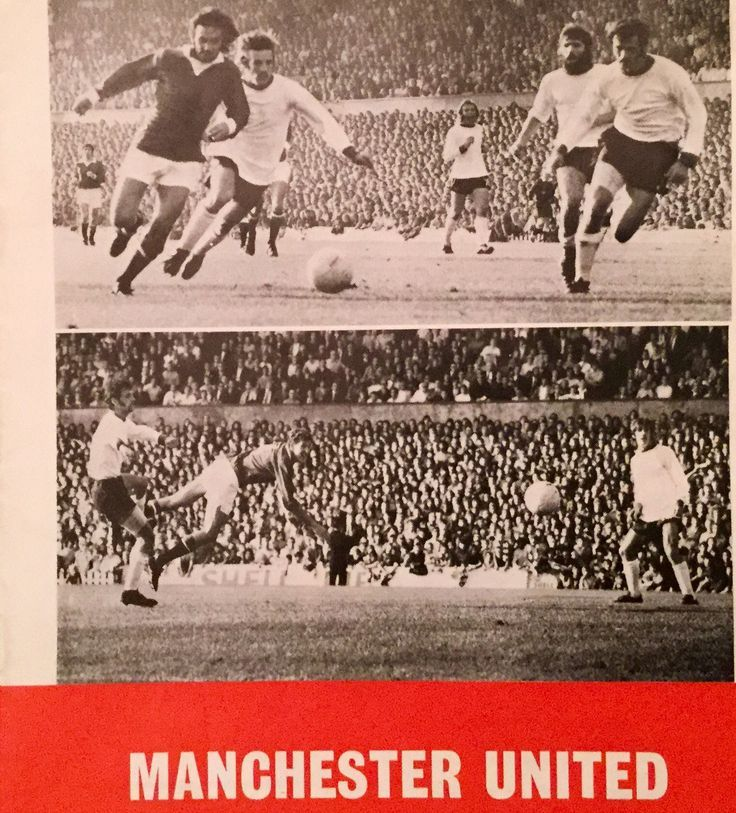Man Utd 2 Sheffield Utd 0 in Oct 1971 at Old Trafford. George Best and Alan Gowling scored in the game #Div1