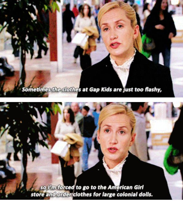 "When Angela shared this fashion tip: | 29 Quotes From The Ladies Of ""The Office"" That Still Are Hilarious"
