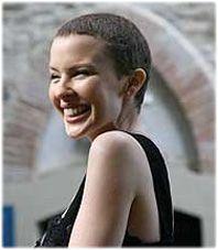 Bald Kylie Minogue
