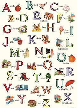 SUPPLIES: use this to accent a baby shower... Cavallini English ABC's Wrapping Paper