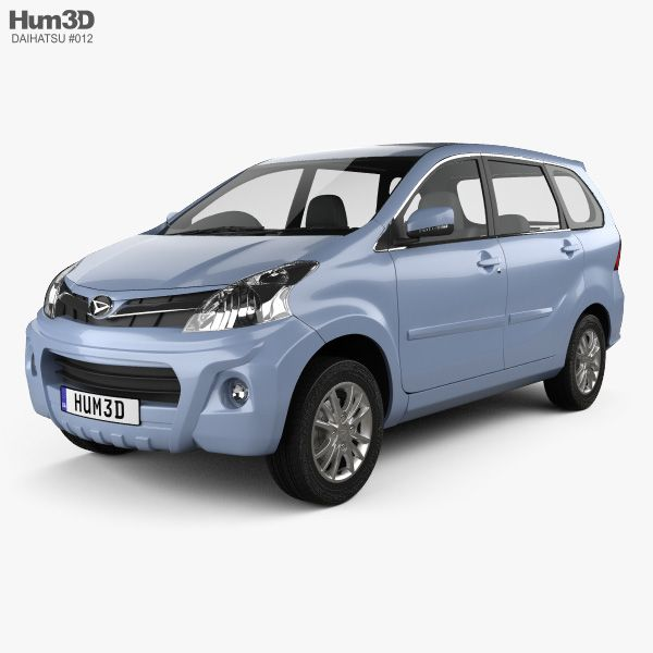 3d Model Of Daihatsu Xenia Sporty 2013