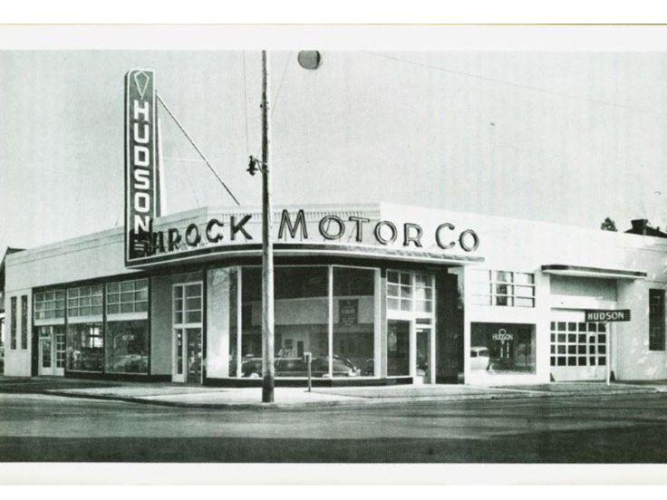 1940's Shrock Motor Co., Hudson Dealership, Salem, Oregon