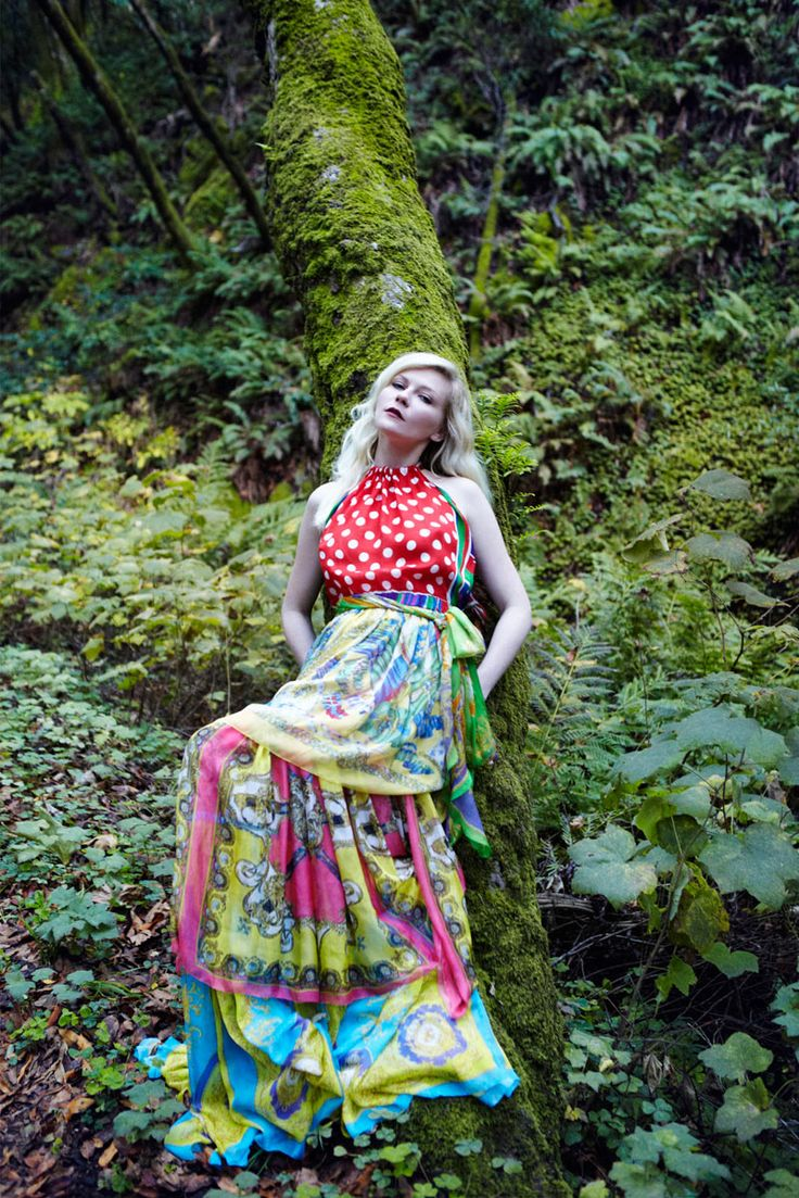 Kirsten Dunst in Vogue Italia Feb. 2012.