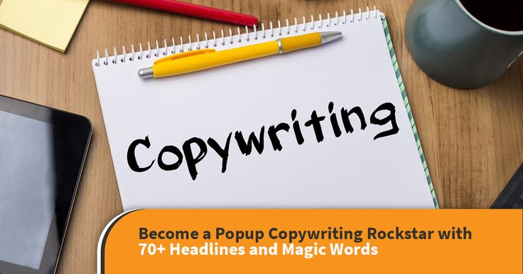 Become a Popup Copywriting Rockstar with 70+ Headlines and Magic Words - OptiMonk Blog