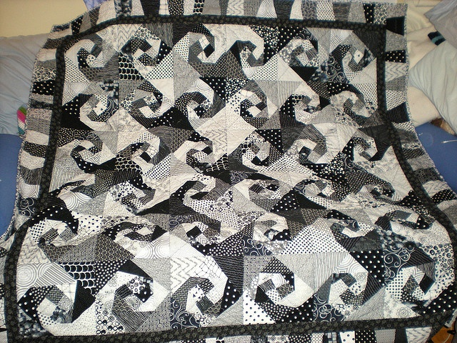17 Best Images About Quilts Black White And On