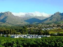 Partial view over Erinvale and part of Lourensford.