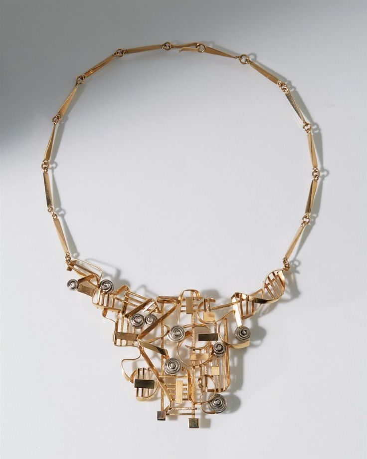 Necklace designed by Claes Giertta, — Modernity