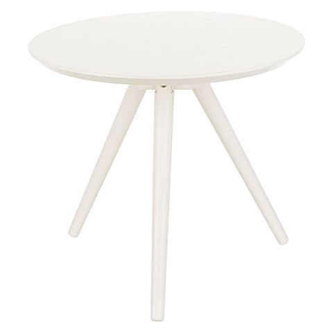 Scarborough White Side Table from Zanui $119