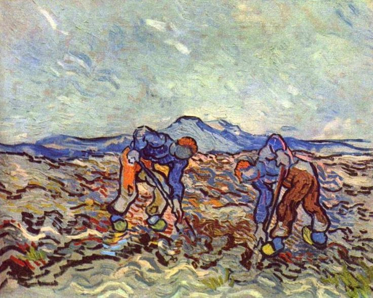 Vincent van Gogh (1853-1890): Farmers at Work