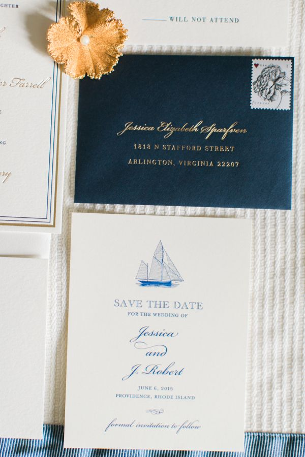 cruise wedding save the date announcement%0A Nautical Save the Date