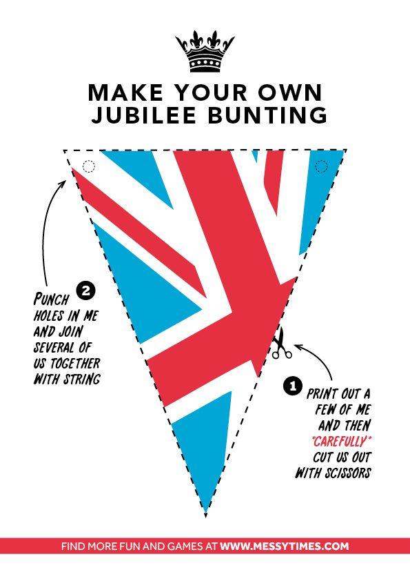 British Bunting - Royal Holiday - Diamond Jubilee