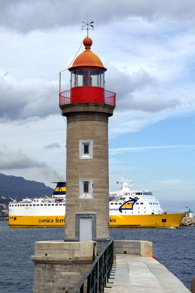 Bastia Harbor Lighthouse, Corsica / France