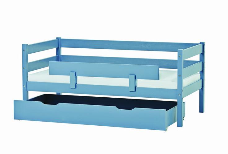 Hoppekids Ida junior bed dusted blue -Kinderbeddenstore