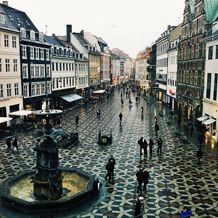 Copenhagen on a rainy day