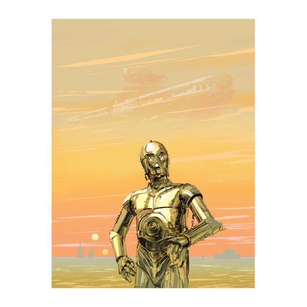 The foreboding of C-3PO