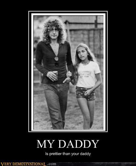 Robert Plant | Led Zeppelin with daughter Carmen
