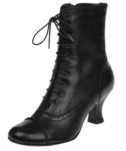 I want some cute granny boots. And to be able to wear them to work.