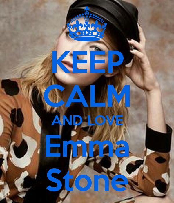Keep calm: Emma Stone (06)