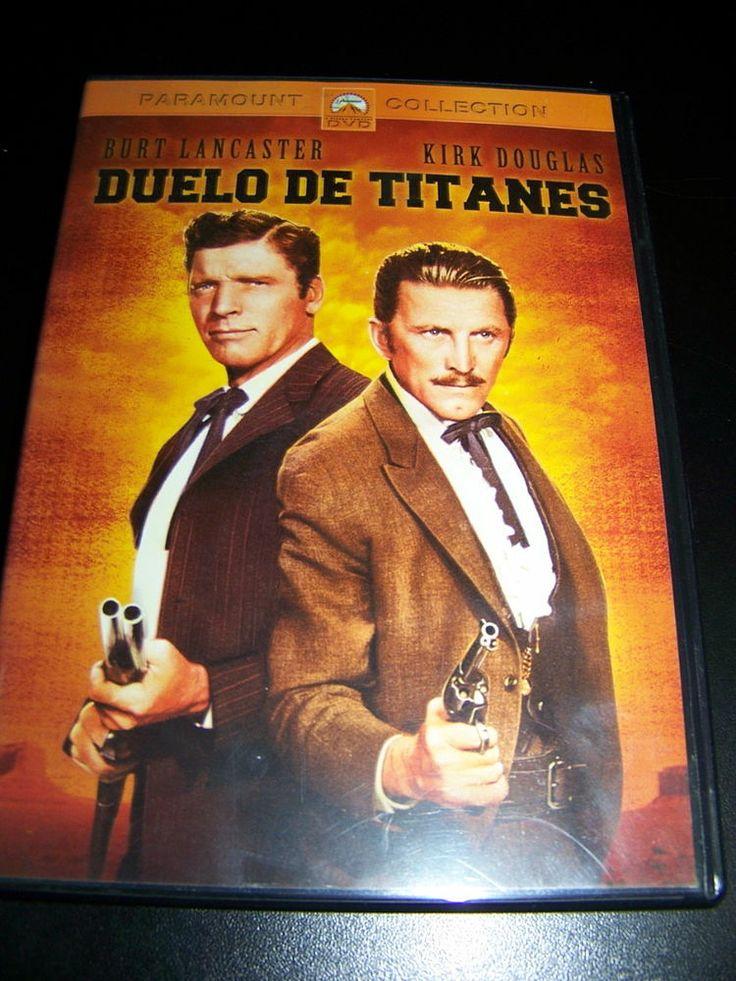 Pelicula En DVD DUELO DE TITANES clasico buen estado!