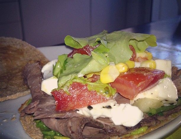 Roast beef sandwich. #HomeMade
