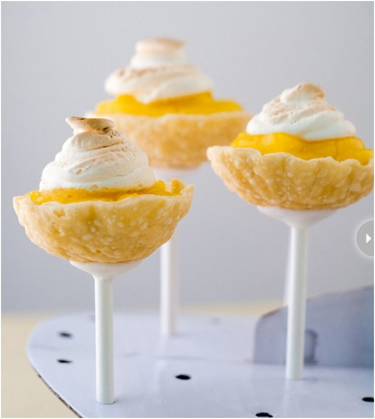 Lemon Meringue Pie Pop.  Site has sections on decor, fitness and other topics