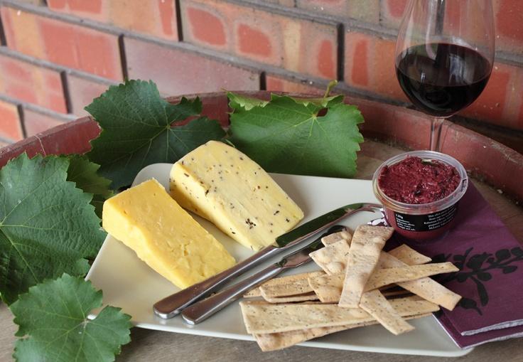 Regional cheese platters...