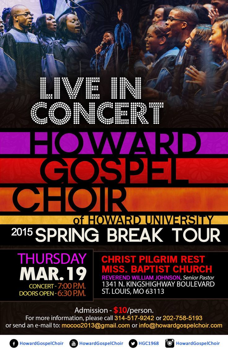 17 best images about my howard university howard gospel choir of howard university