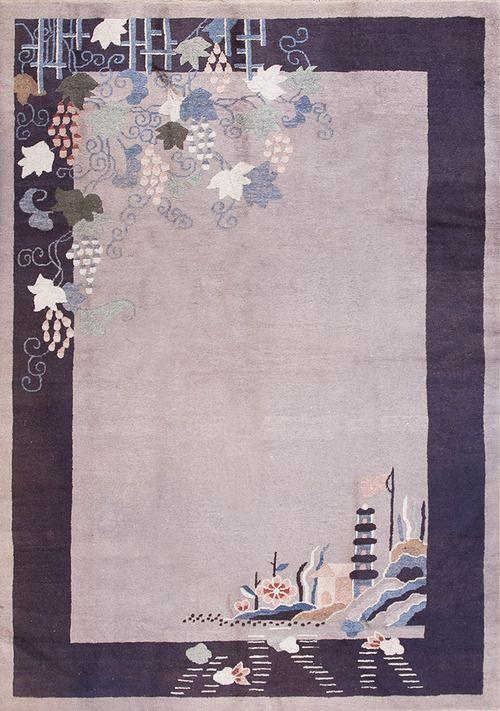 """#ArtDeco #ковры из Китая: #21976, Размер: 6' 2"""" x 8' 9"""""""