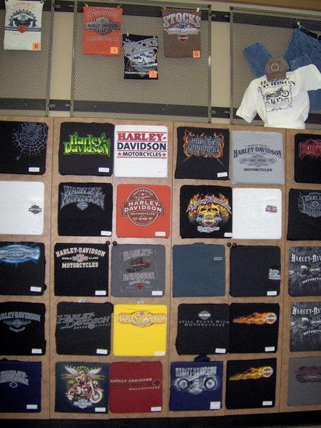 Their T-Shirt Wall
