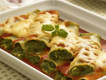 Cannelloni se špenátem / Cannelloni with spinach