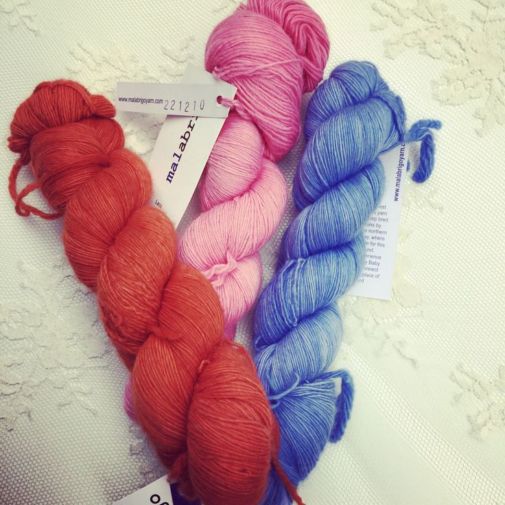 https://flic.kr/p/ugAkXd   Malabrigo lace collection