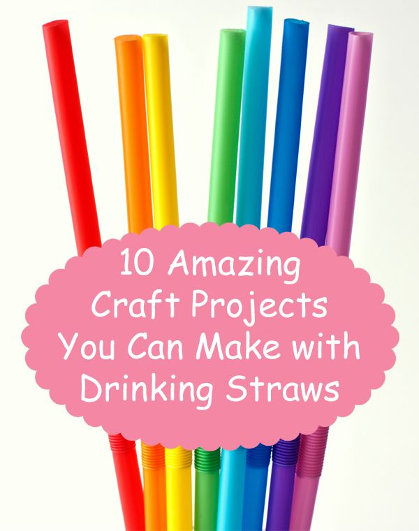10 Amazing Craft Projects You Can Make With Drinking Straws
