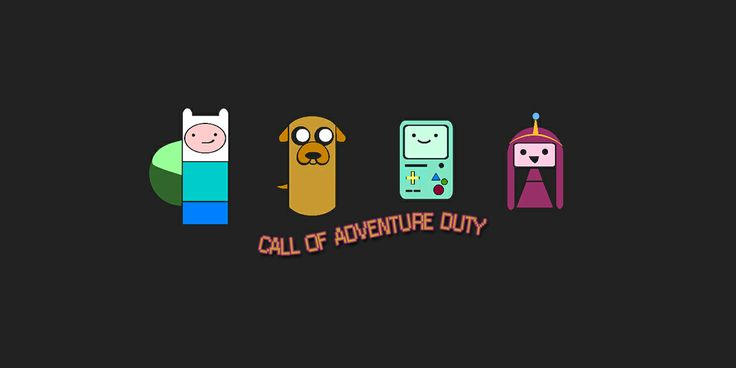 A mash-up of the Adventure Time characters I made using the Create Emblems tool in Call of Duty: Black Ops 2