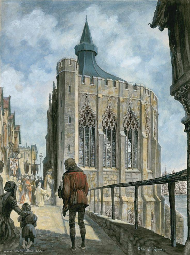 Outdated London Bridge: Merchants, Travellers & Traitors